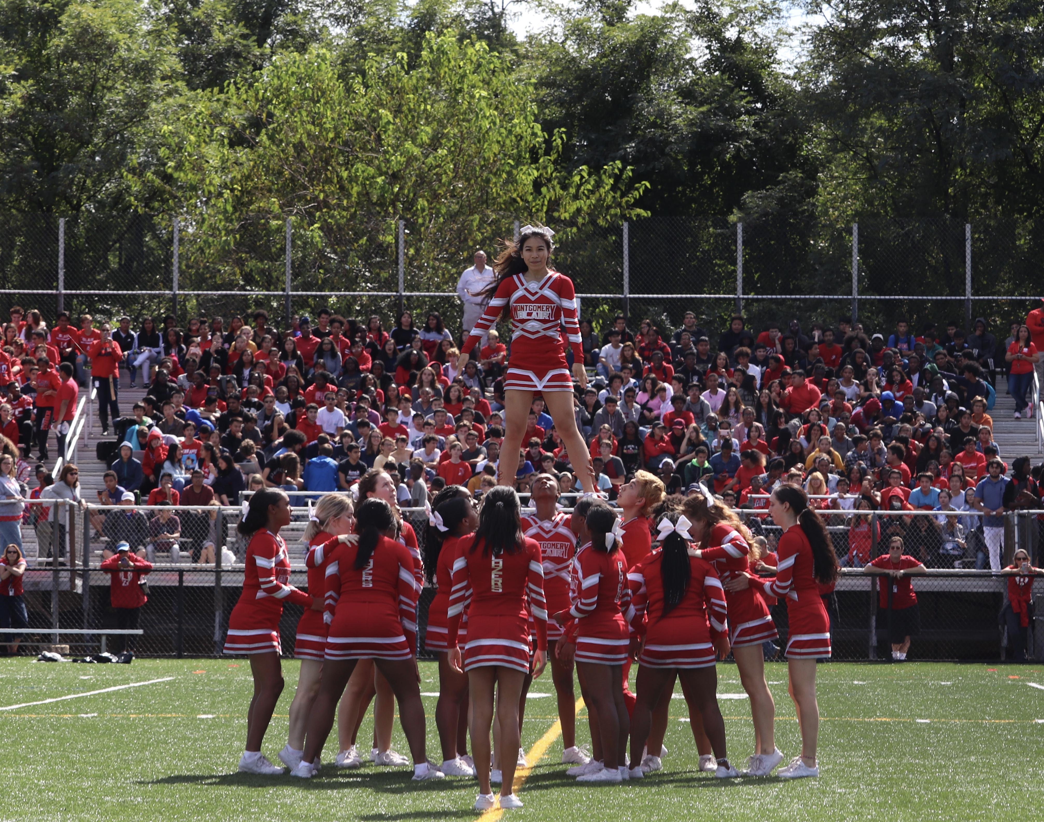 Blair cheer spirit shines through despite loss at the County Cheer Championships