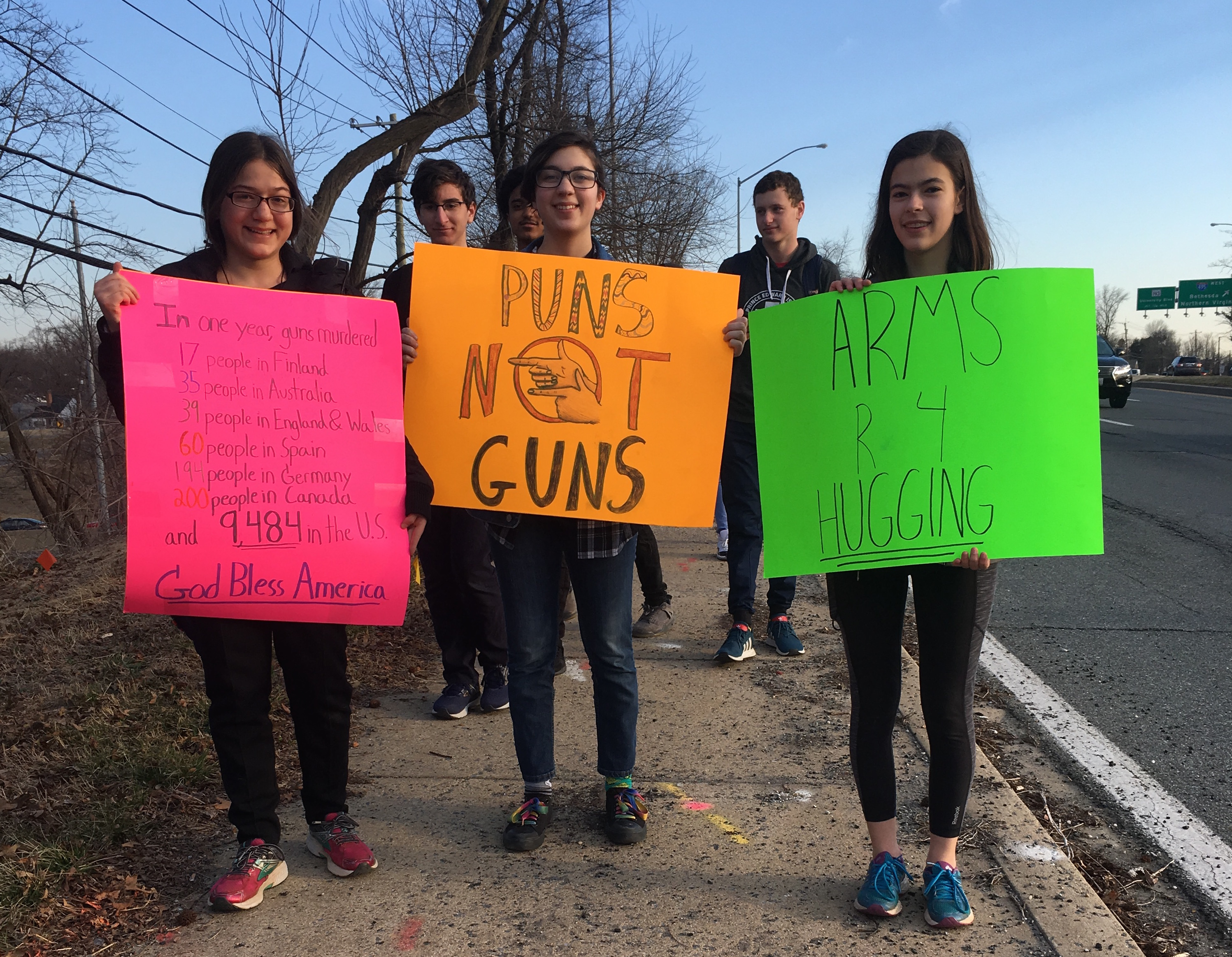 Blazers walk out for gun control