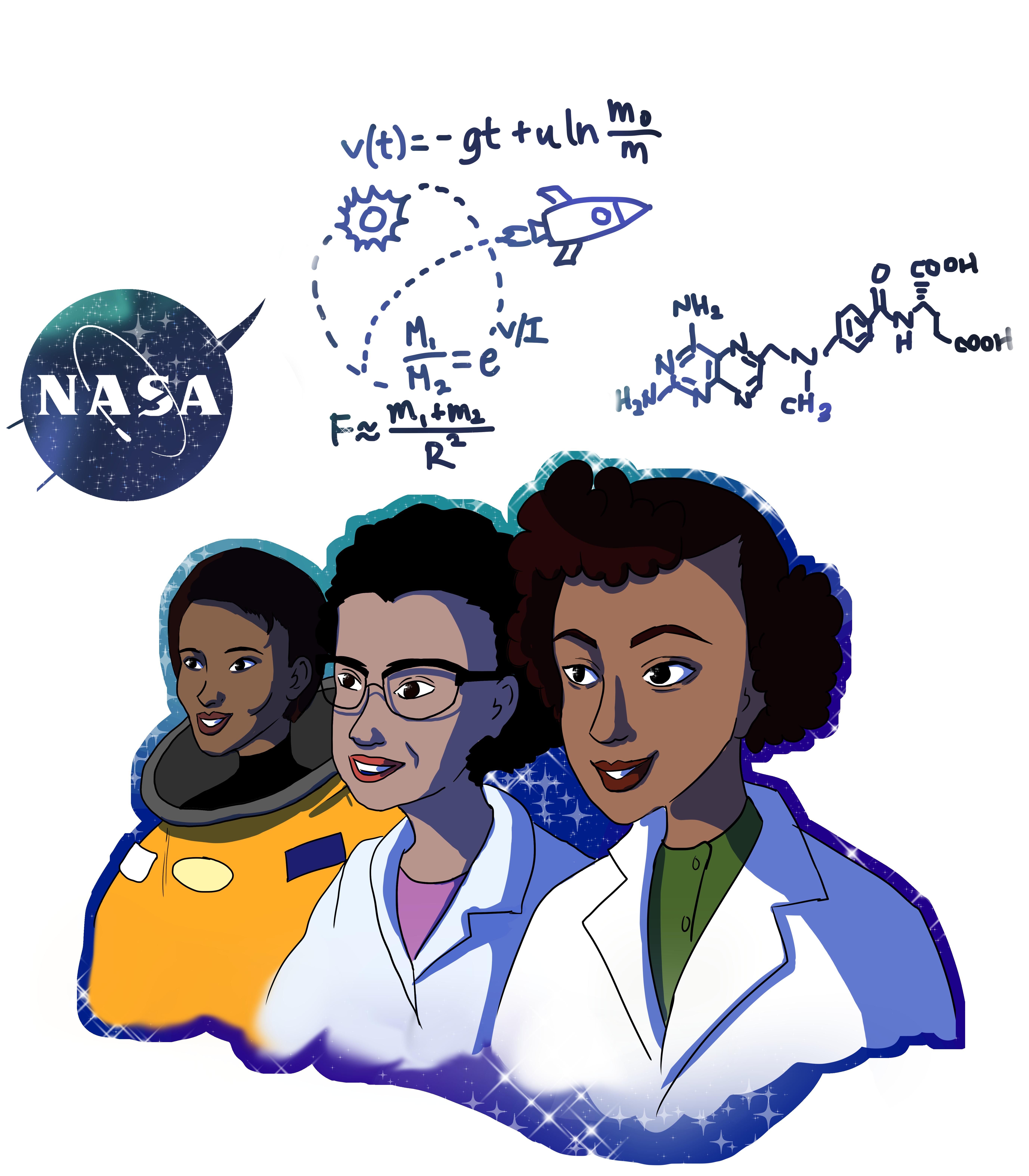 Recognizing important black females in STEM