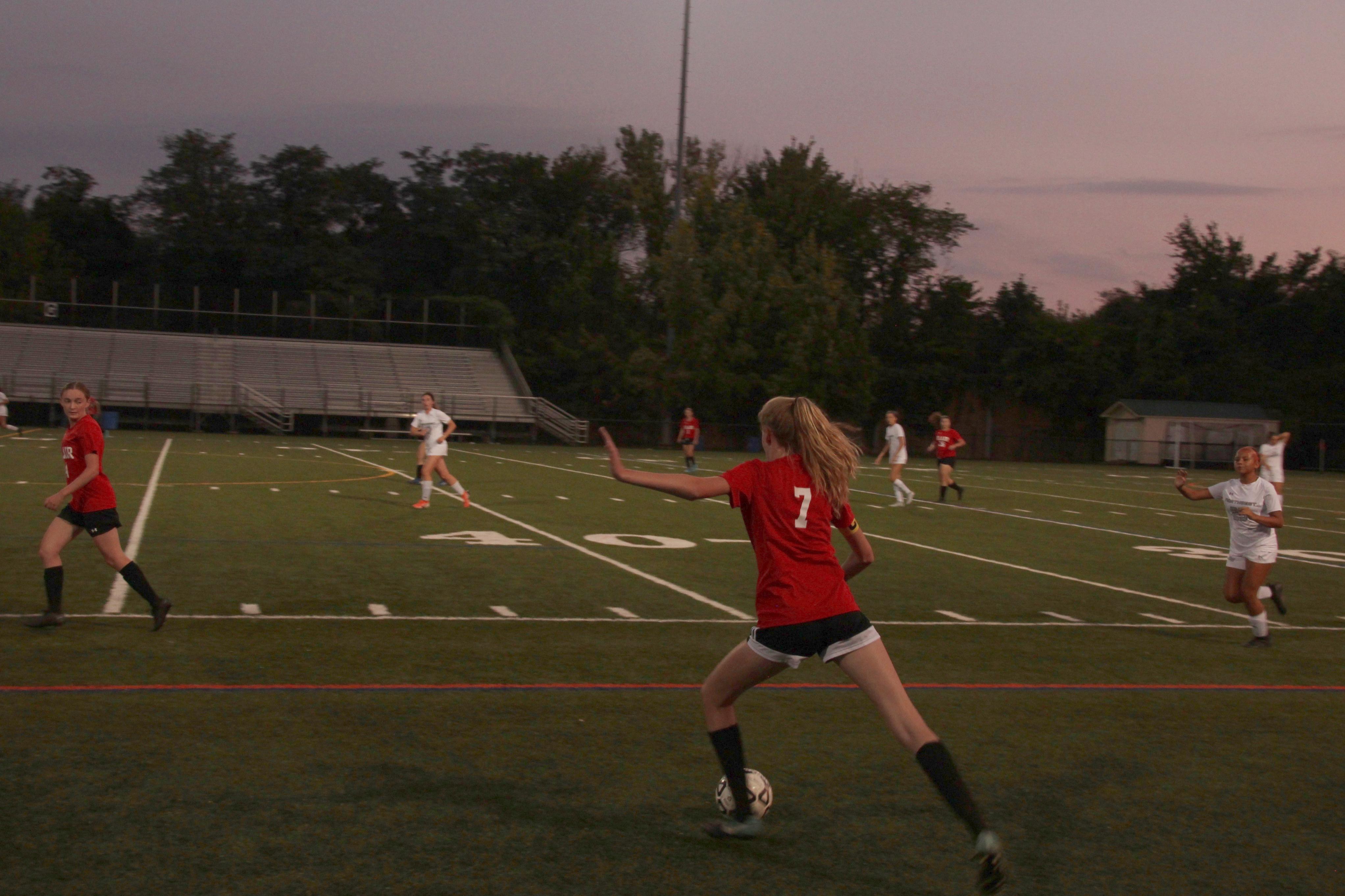 Blair girls soccer defeats Northwest in home opener