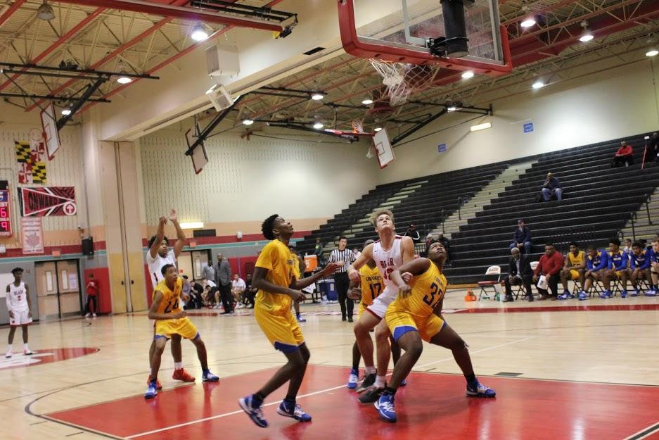 Blair boys' basketball loses to Thomas Stone