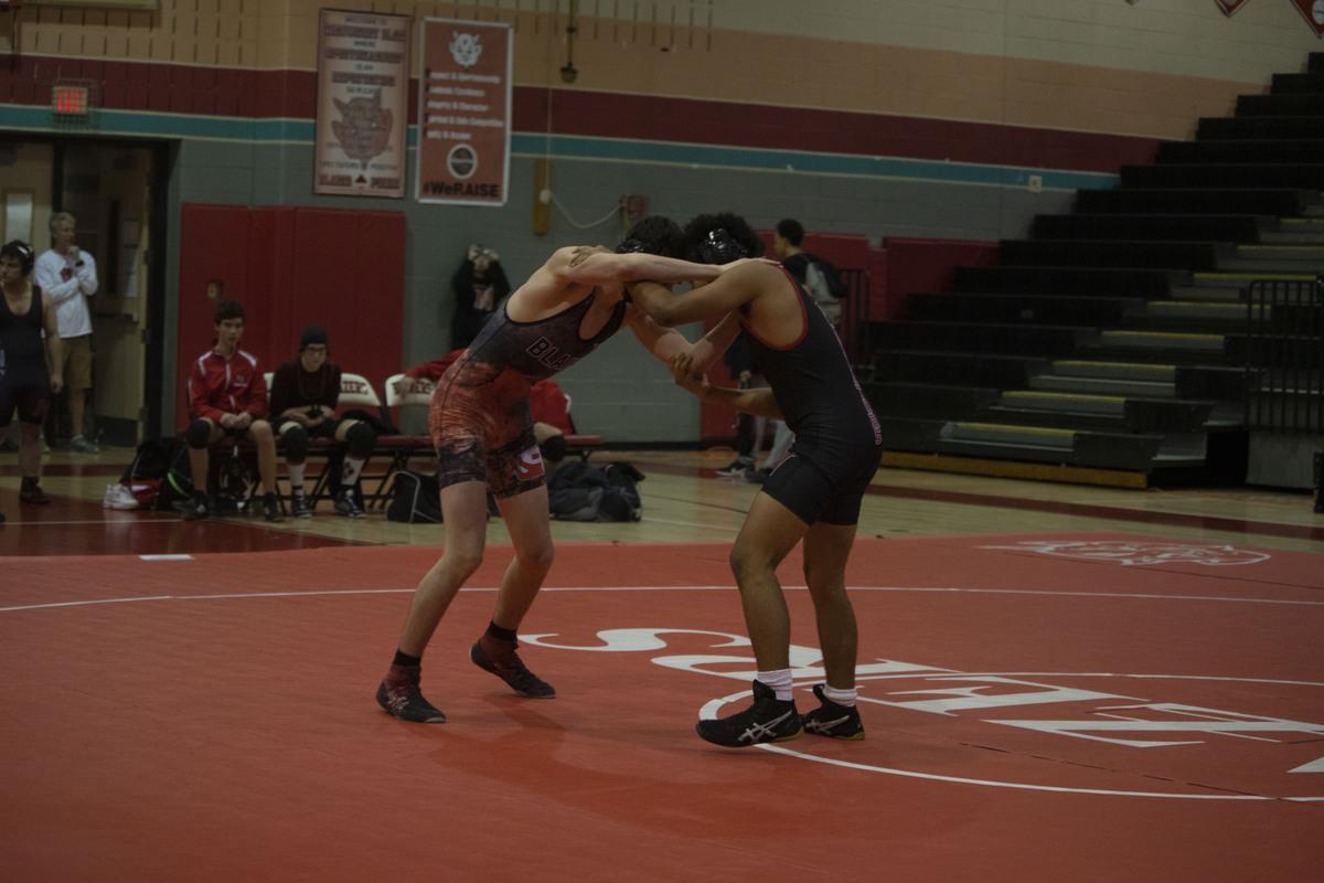 Blair varsity wrestling defeats Northwood