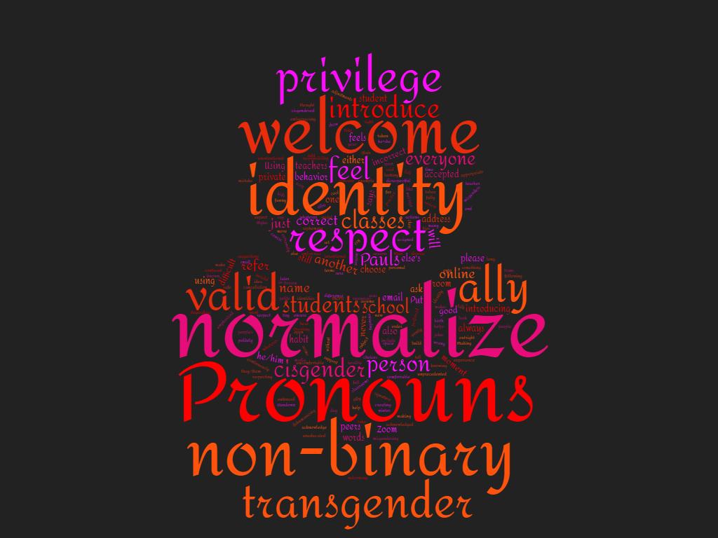 Let's Talk About Pronouns