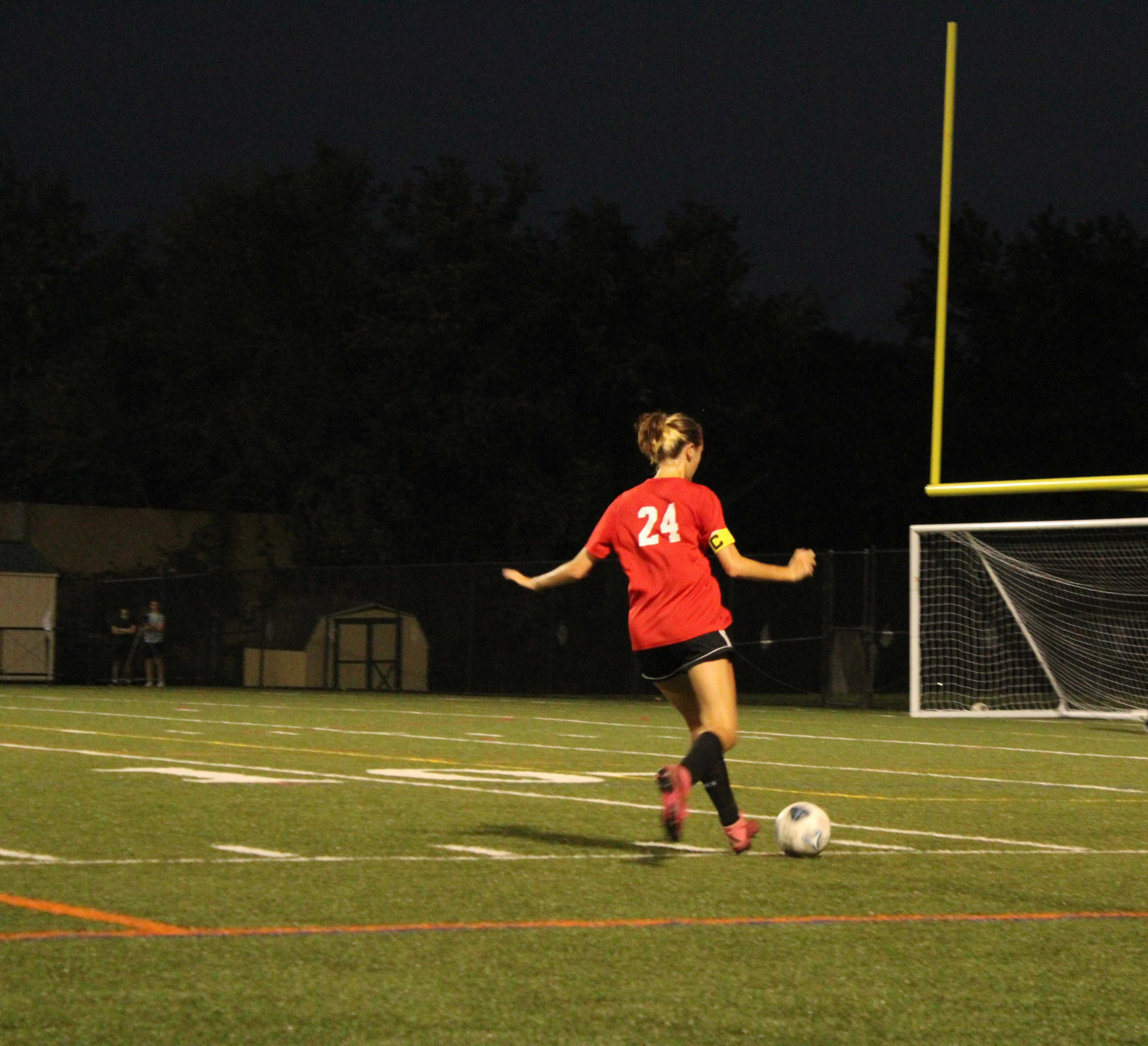 Blair girls' soccer team becomes division champion after defeating Sherwood Warriors